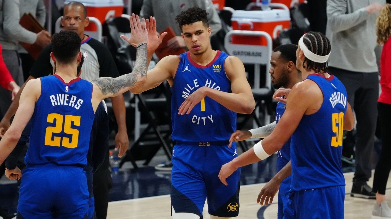 Michael Porter Jr ties NBA playoff record for most 3-pointers in a quarter: Nuggets' young star takes over in first quarter vs Damian Lillard and co, ties Antoine Walker's 19-year-record