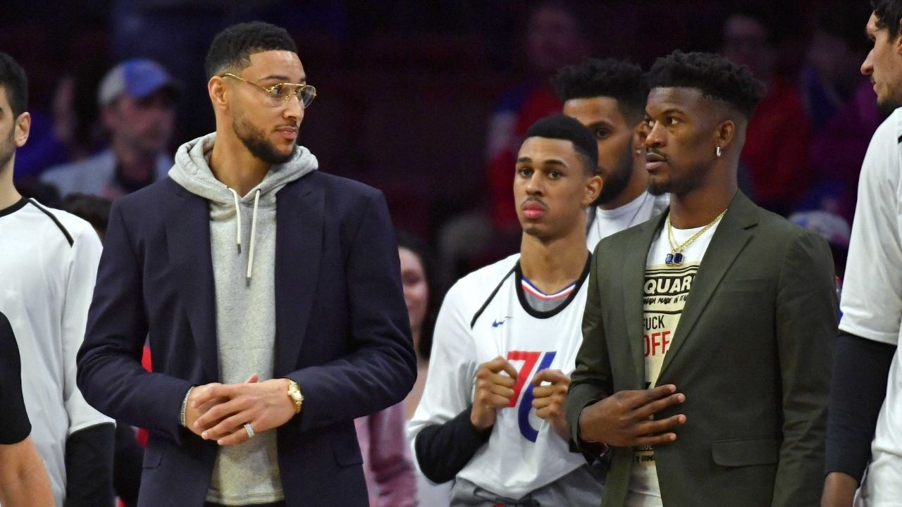 """NBA Insider reveals Ben Simmons' role in Jimmy Butler's departure from the Philadelphia 76ers: """"Ben wan unhappy at going off-ball in crunch time"""""""