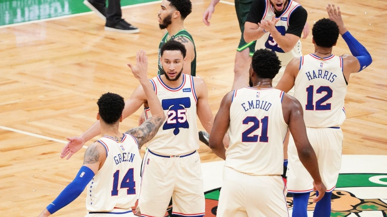 """""""Ben Simmons isn't the type to take that risk"""": Danny Green breaks down why his Sixers teammate hasn't picked up shooting at an NBA level yet"""