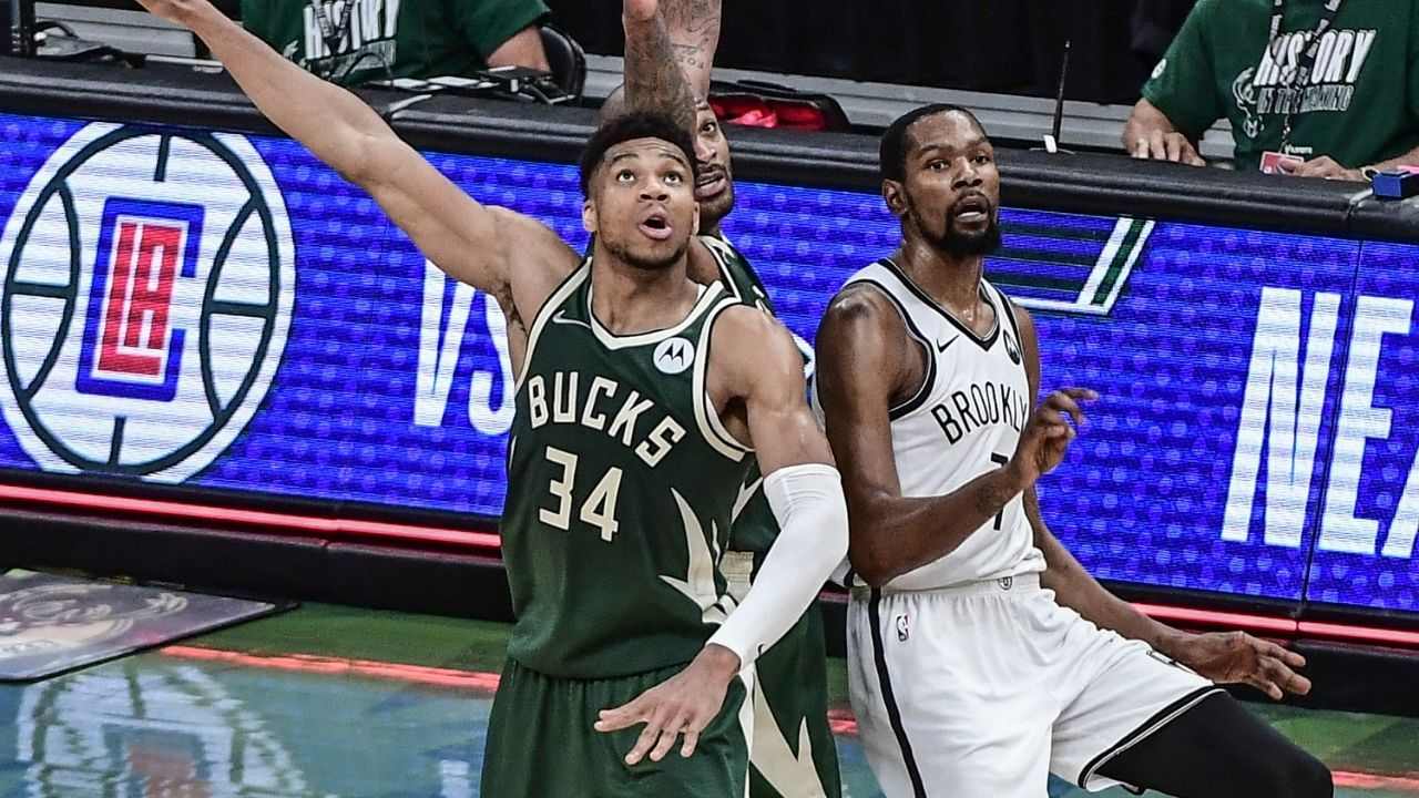 """""""I wanna guard Kevin Durant"""": Giannis Antetokounmpo enthusiastically takes up the challenge of guarding Brooklyn's best scorer in Game 6"""
