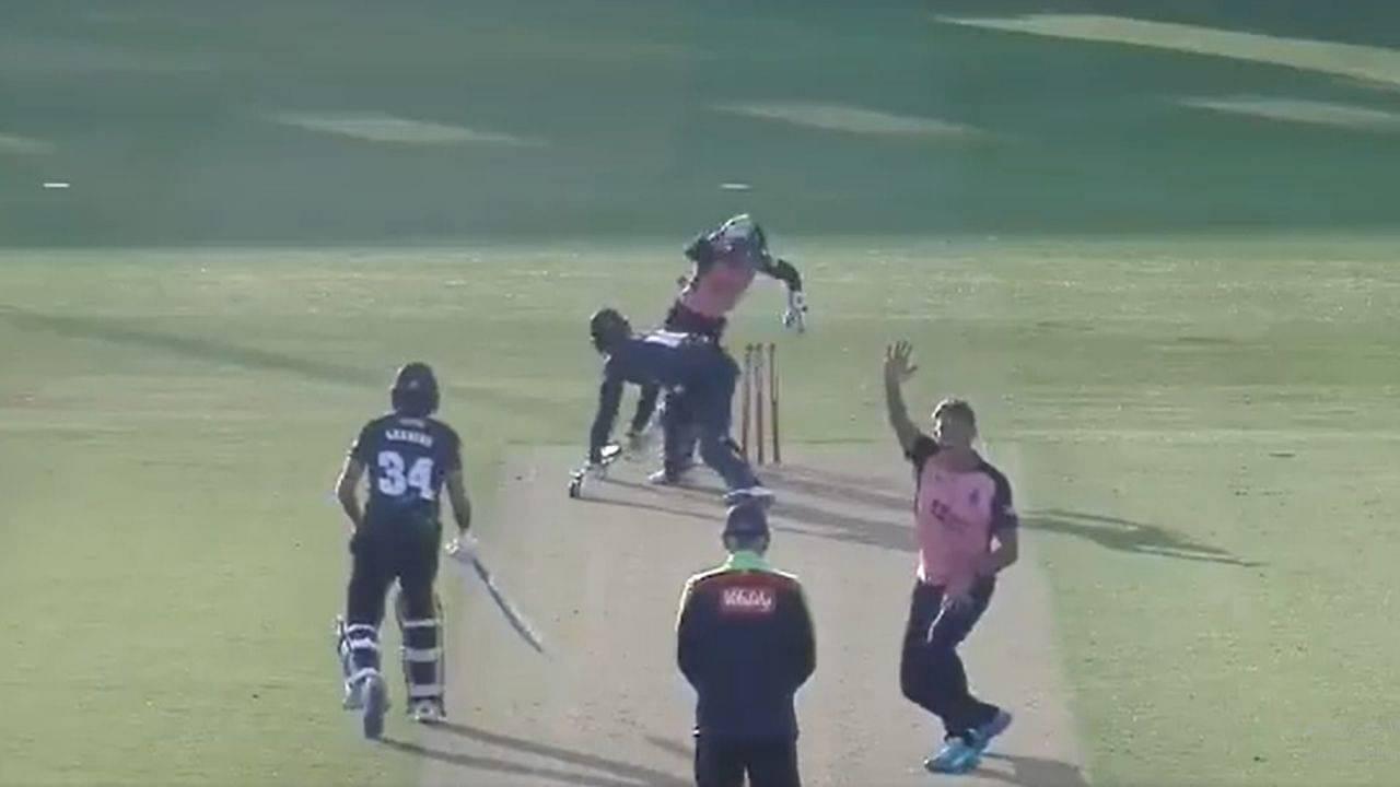 Chris Green Middlesex cricket: Watch Australian spinner picks career-best bowling figures vs Kent in T20 Blast 2021