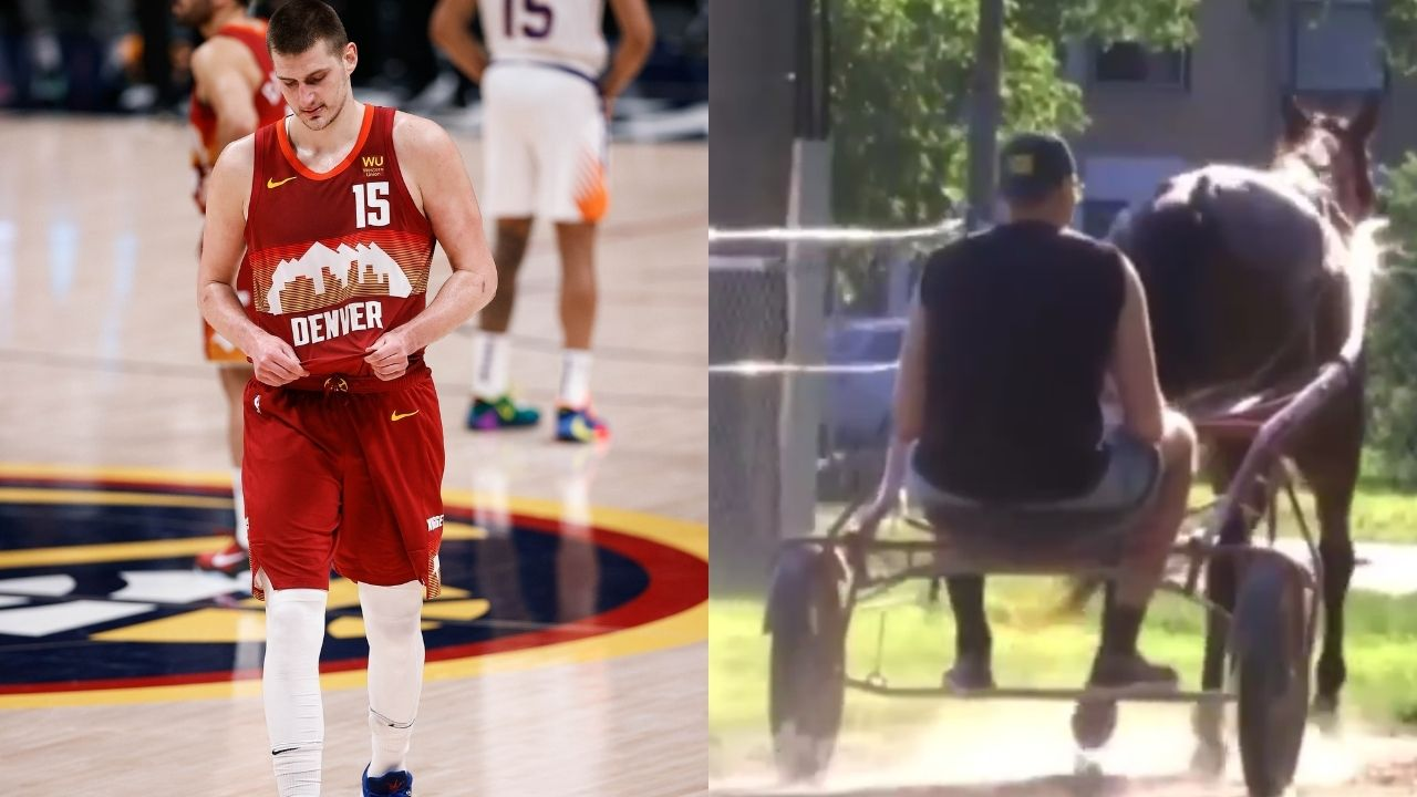 'Nikola Jokic is now riding horses in Serbia': NBA Fans mock the league MVP for horseriding days after Nuggets' playoff exit