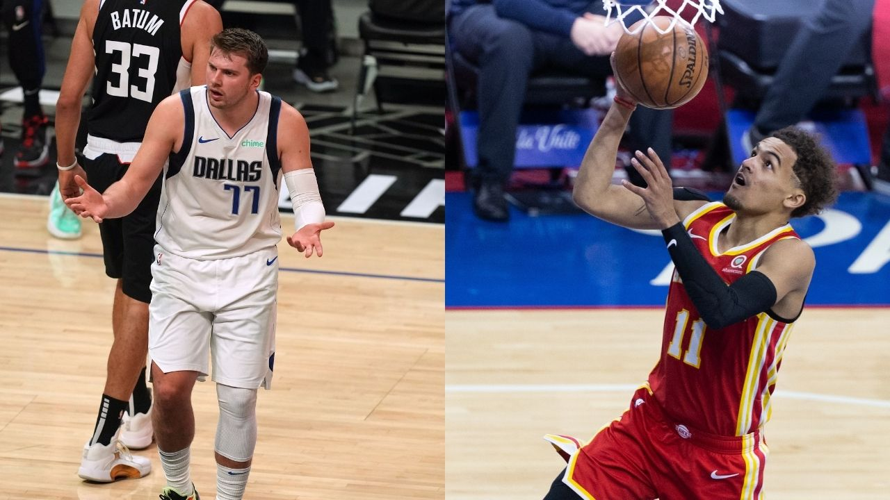 """""""If Luka Doncic was up on a #1 seed, they'd make statues for him"""": Kendrick Perkins is irked by lack of respect for Trae Young, while subtly taking a dig at Mavs' superstar"""