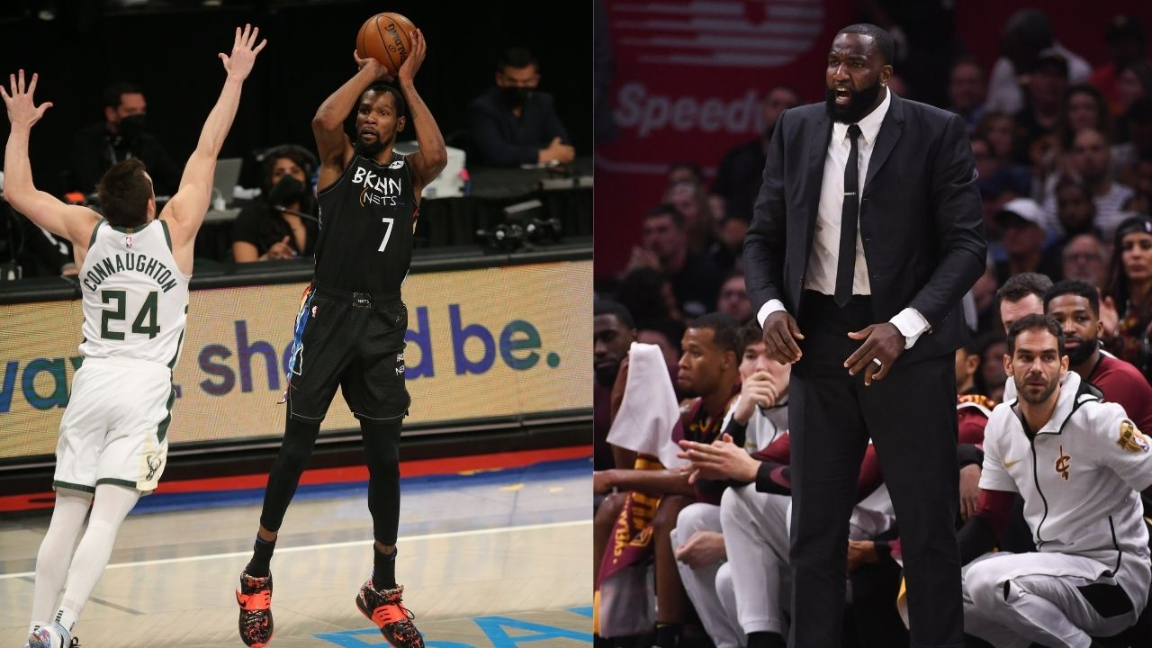 """""""Kevin Durant gave the Bucks a straight spanking tonight with a leather belt"""": Former OKC teammate heaps praises for KD's performance in a crucial Game 5"""