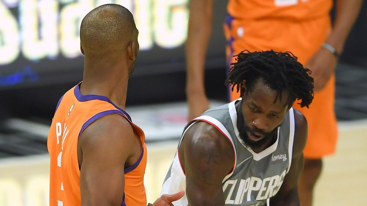 """""""Patrick Beverley was saying he ain't afraid of Chris Paul"""": Skip Bayless praises Clippers' defensive ace for his antics and flagrant foul in Game 5 vs Suns"""
