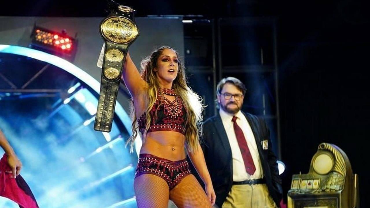 Britt Baker vs Nyla Rose for AEW Women's World Championship set for Fyter Fest