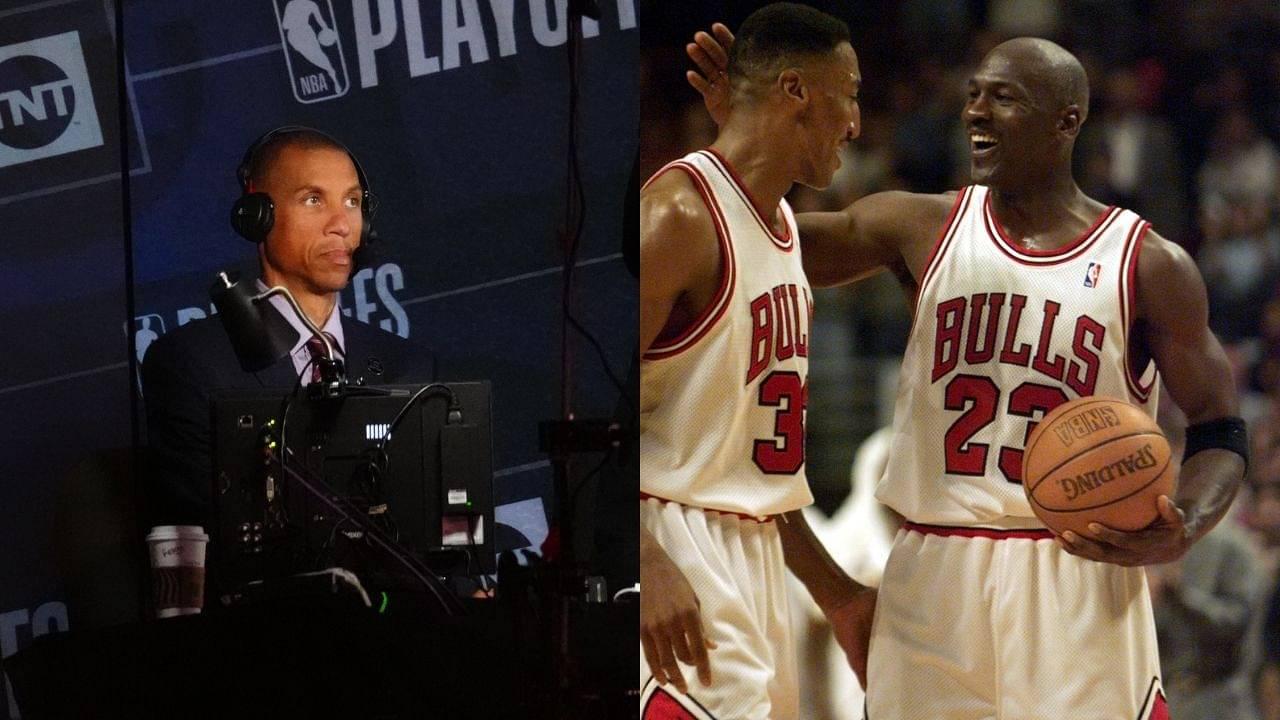 """Feels like Scottie Pippen is having a mid-life crisis"": Dan Patrick and Reggie Miller are taken aback by Michael Jordan's co-star calling Phil Jackson racist"