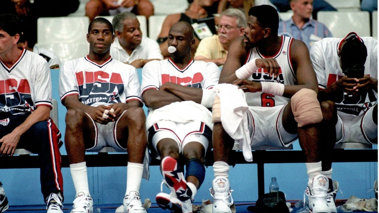 """""""Michael Jordan made you wonder if there was there any reason for the rest of us to play"""": When Hall of Famer John Stockton lauded the Bulls legend and his Dream Team teammate"""