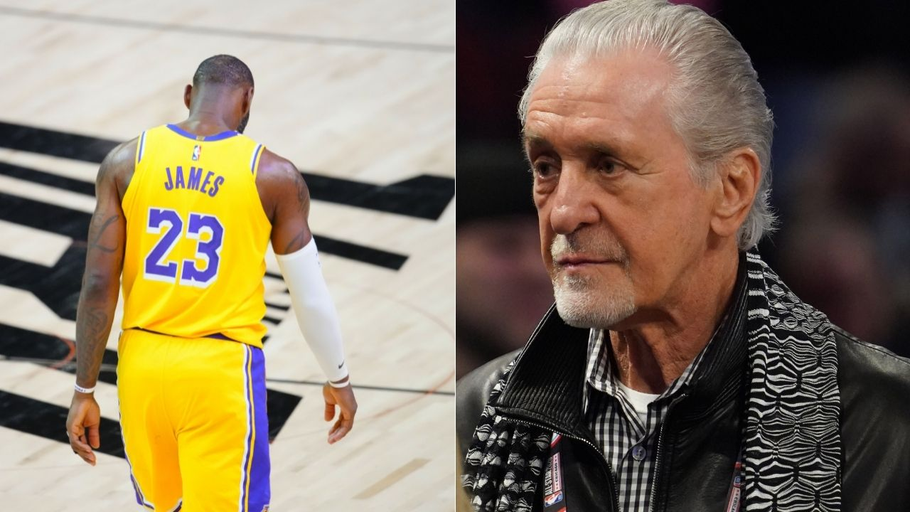 """""""If LeBron James ever wanted to come back, I'd leave a new key to the door"""": Pat Riley evades NBA tampering fine but slyly invites Lakers star back to the Miami Heat"""