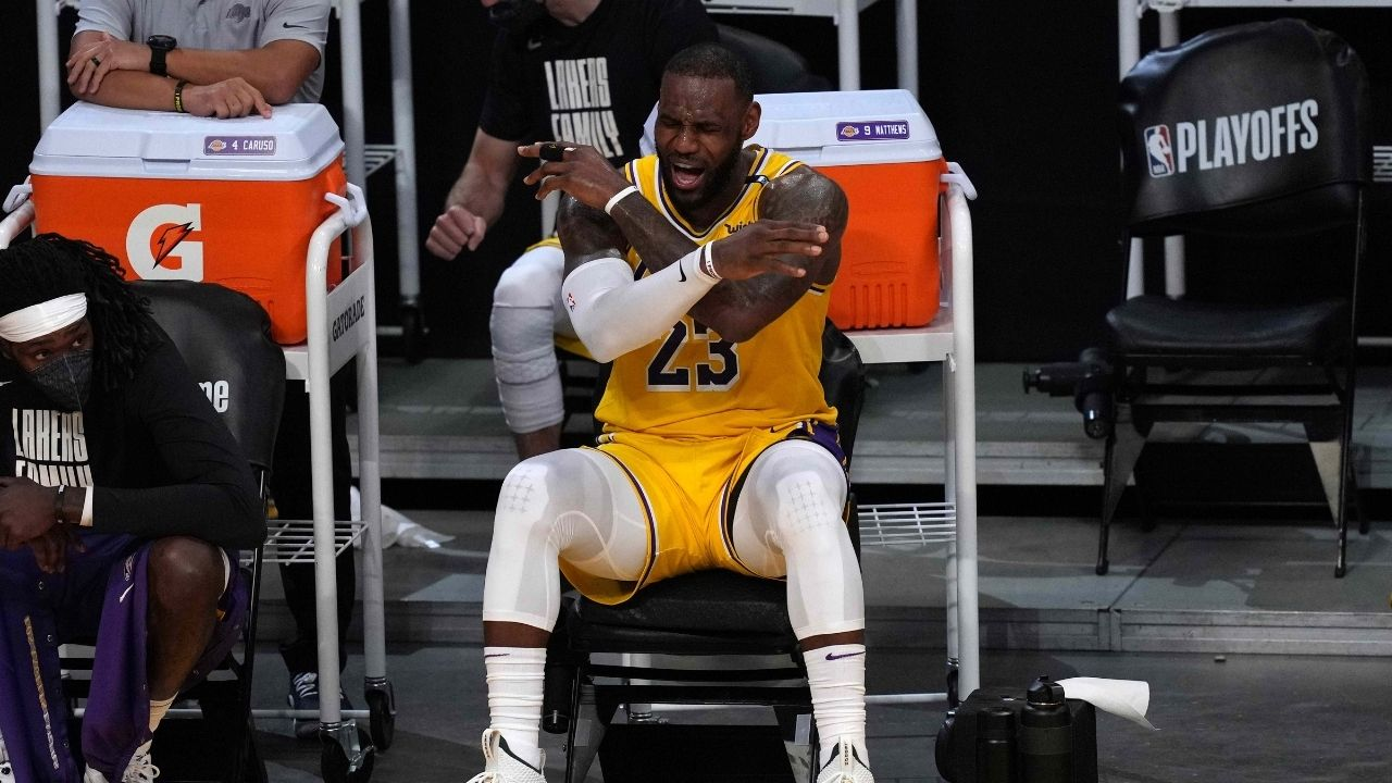 'LeBron James, injury rates were virtually the same in 2019-20 season too': NBA fires back at Lakers star for accusations that the league compromised All-Stars' fitness with early season start