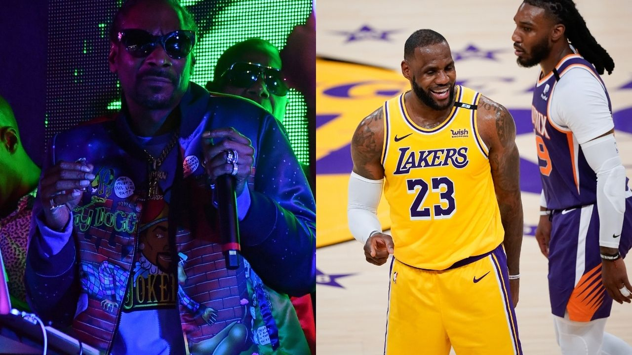 """""""The Clippers are better than the Lakers and Frank Vogel can't coach"""": Snoop Dogg goes off on LeBron James and co following their embarrassing Game 5 loss in Anthony Davis's absence"""