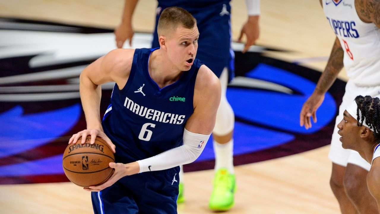 """""""I just try to be as professional as I can"""": Kristaps Porzingis displays clear signs of discontent with offensive fit around Luka Doncic and other Mavs"""