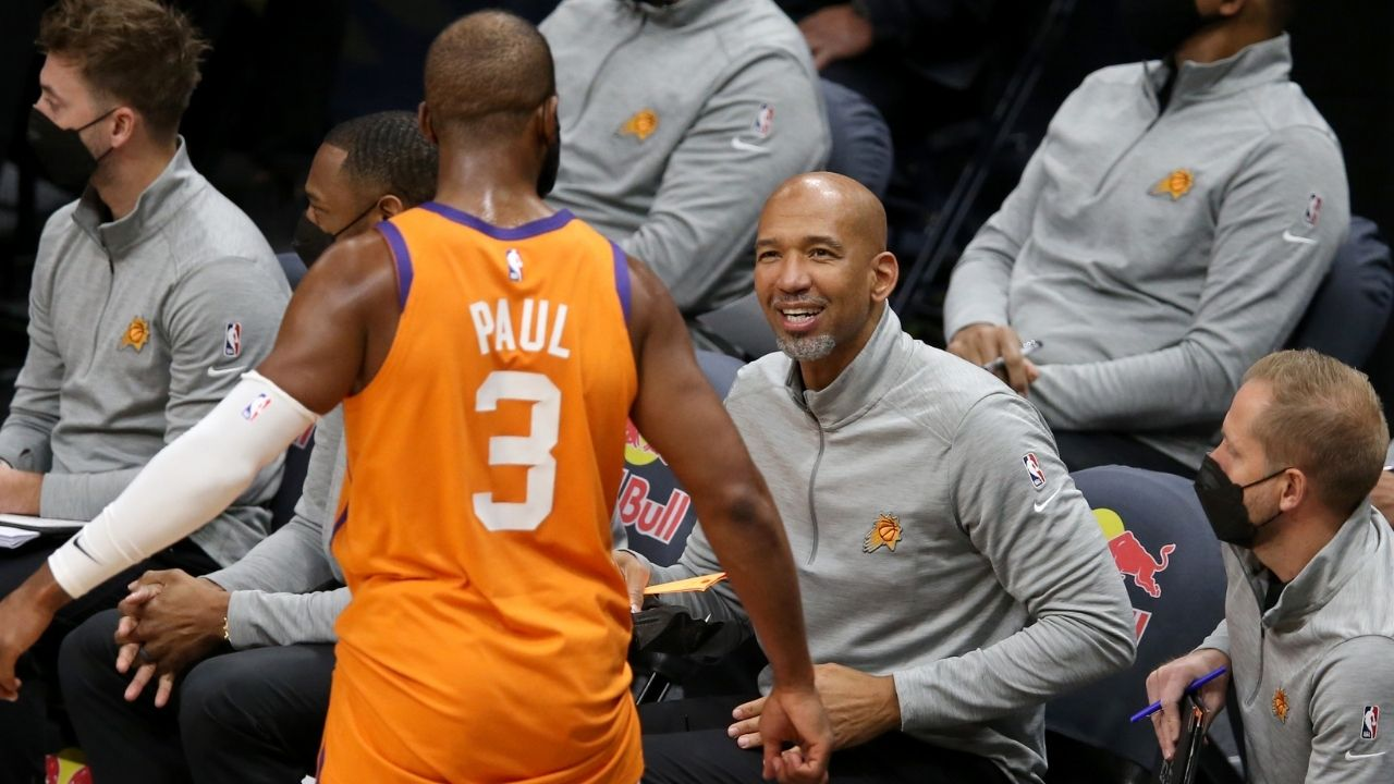 """""""Chris Paul has been there for the darkest moments of my life"""": Monty Williams pays a moving tribute to the Point God after Phoenix Suns advance to the Western Conference Finals"""