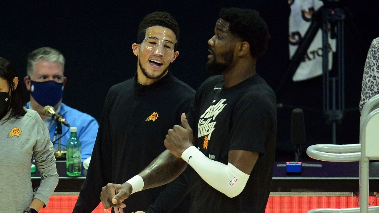 Devin Booker face mask: Why is Suns star wearing a mask in Game 3 vs Clippers?