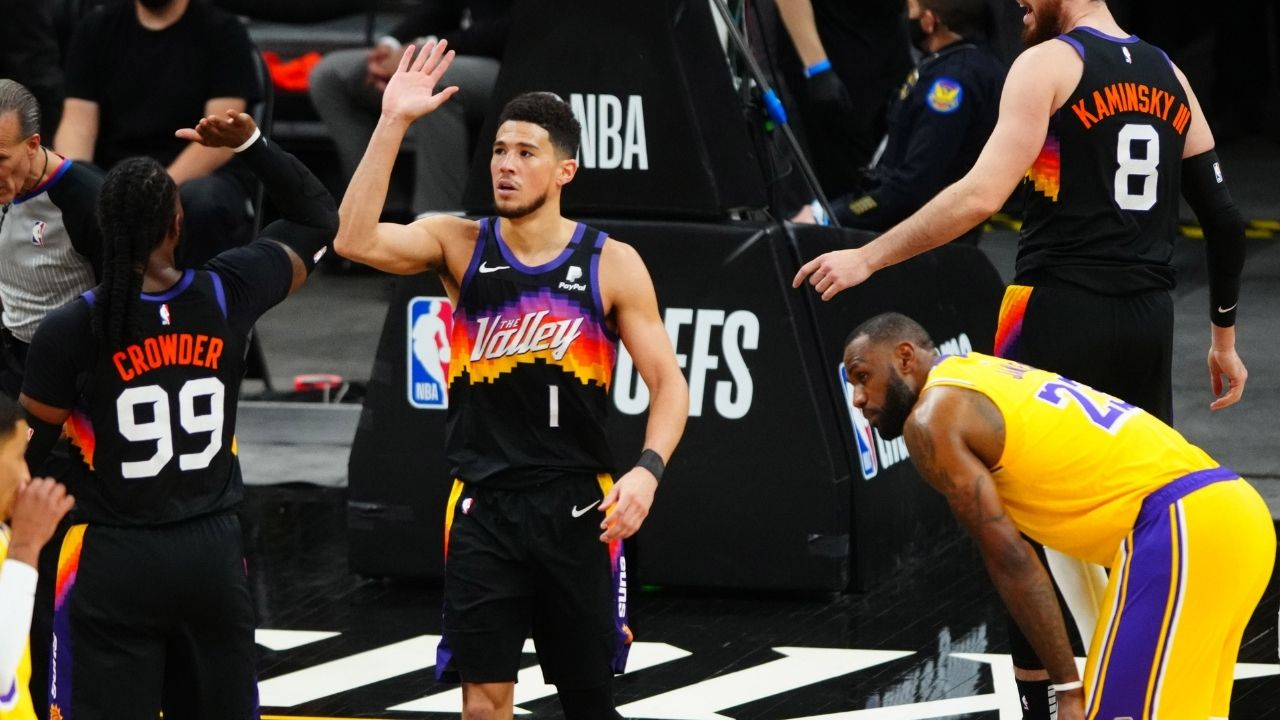 """""""Lakers were do or die last night, and they died"""": Skip Bayless eviscerates LeBron James and co for blowout loss to Suns in Game 5"""