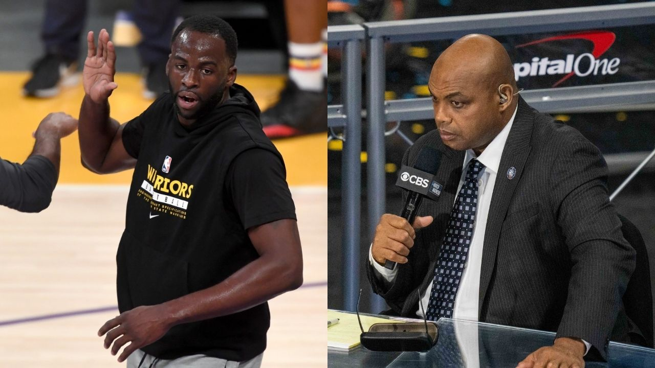 """""""Good luck, Chuck"""": Draymond Green hilariously dismisses Charles Barkley's prediction of the Bucks beating Kevin Durant and the Nets in his return to NBAonTNT"""