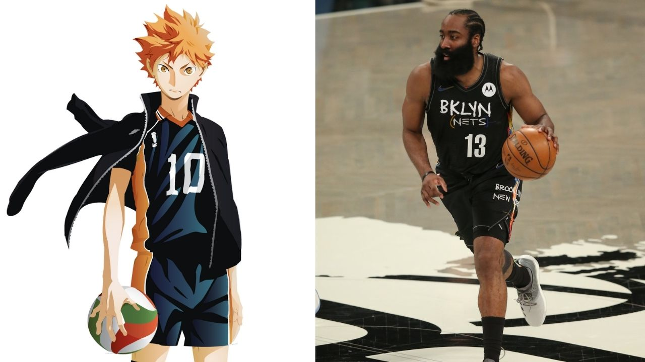 """""""Who's the ultimate decoy? James Harden or Hinata Shoyo?"""": How the Nets's star took inspiration from Haikyuu's middle blocker for his Game 5 performance against the Bucks"""