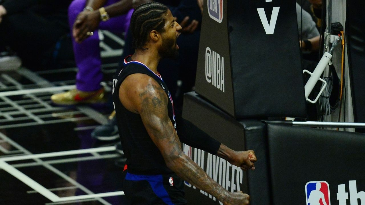 """""""When people step into this arena, they should be feared"""": Clippers' star Paul George emphasizes on the importance of defending the home court, after winning Game 4 against the Jazz"""