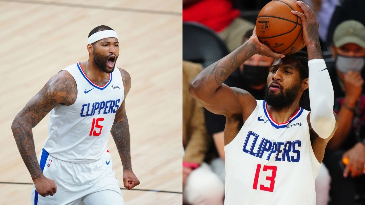'Give Paul George his flowers, don't know where this trolling comes from': DeMarcus Cousins defends Clippers superstar after historic Game 5 performance vs Suns