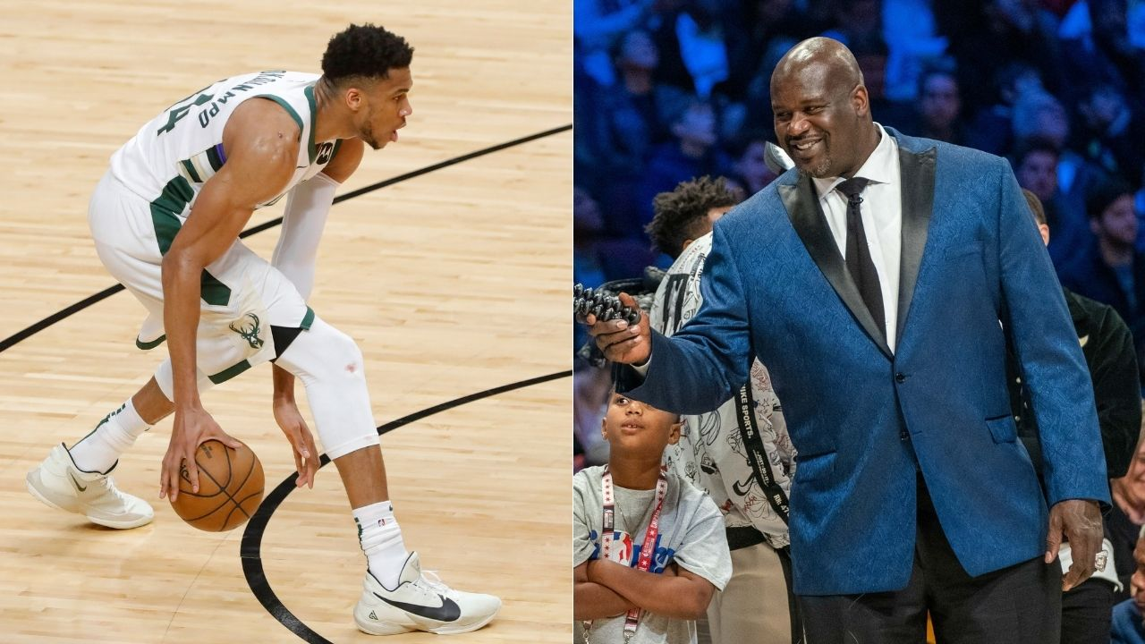"""""""Giannis Antetokounmpo is having a historical playoffs run"""": The Greek Freak joins Shaquille O'Neal as the only two players to achieve his rare feat"""