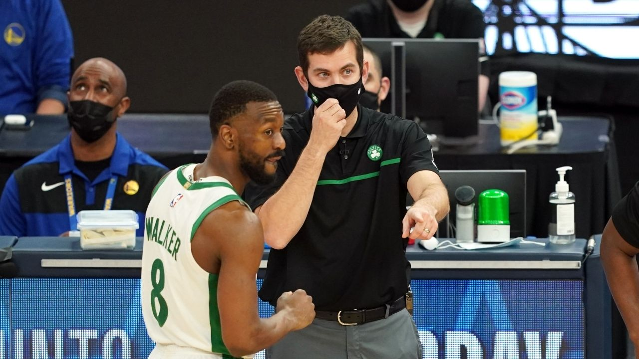 """""""Brad Stevens stepped foot in management role and made power moves"""": Kendrick Perkins grades Kemba Walker trade as a plus for Celtics"""