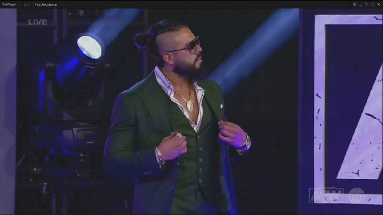 Former WWE Superstar Andrade makes AEW debut