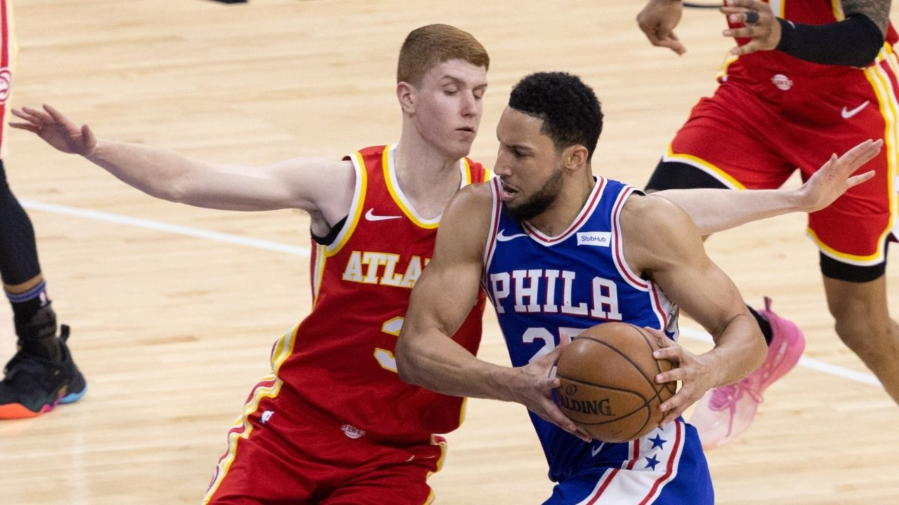 """""""Ben Simmons shoots with the wrong hand"""": NBA writer Kevin O'Connor criticizes the Sixers guard for shooting with his left hand after a horrendous performance against the Hawks in Game 5"""