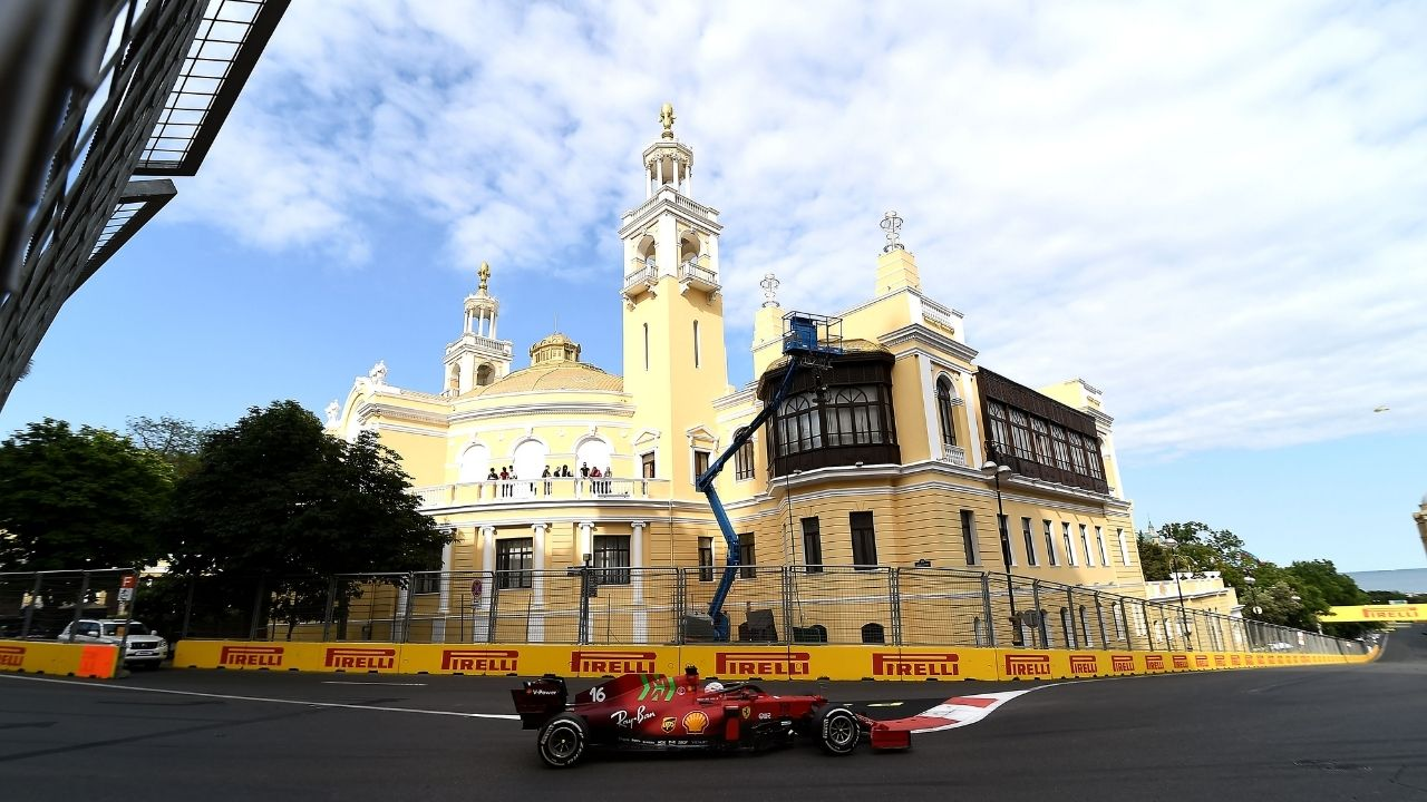 """I think as Ferrari fans we're happy for his result"" - Mattia Binotto glad with Sebastian Vettel podium at Baku"