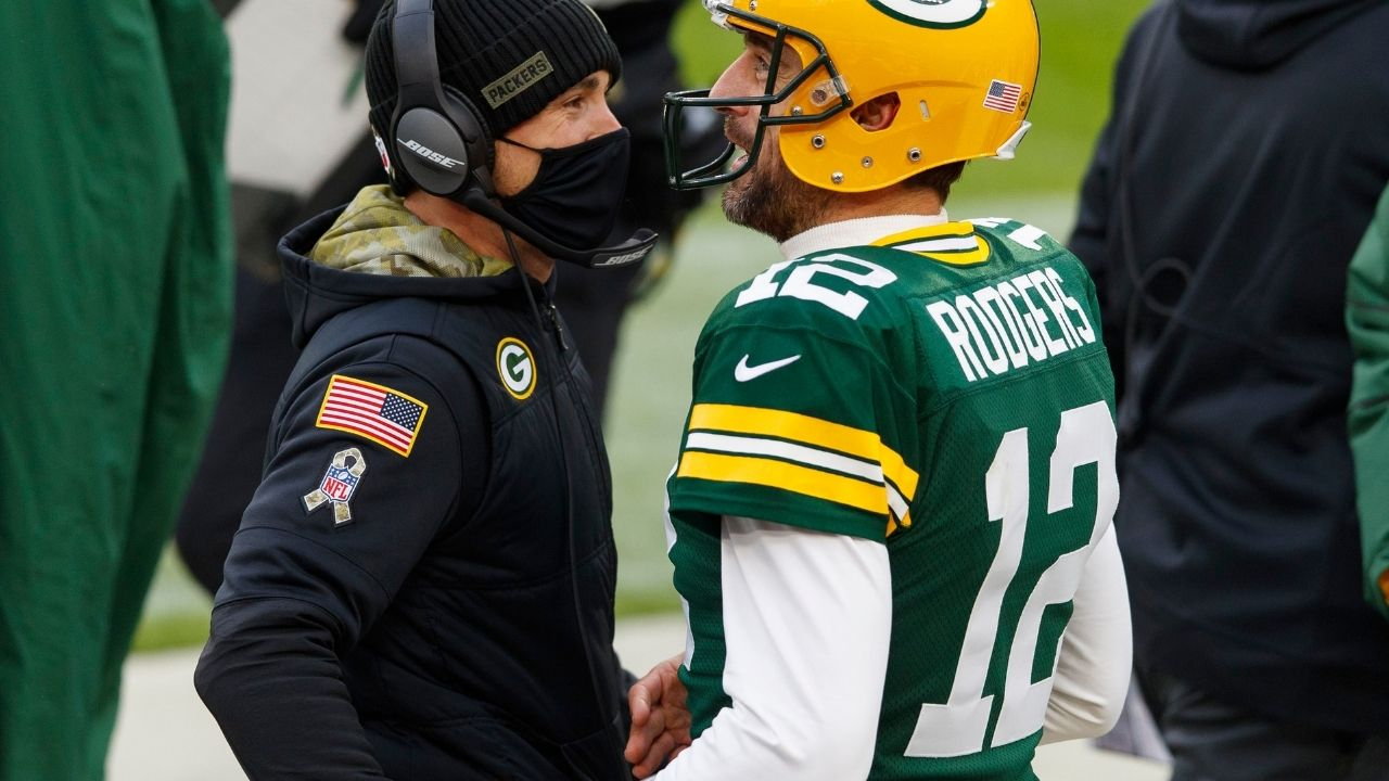 """""""It is what it is man"""": Matt LaFleur reacts to Aaron Rodgers missing Packers mandatory minicamp"""