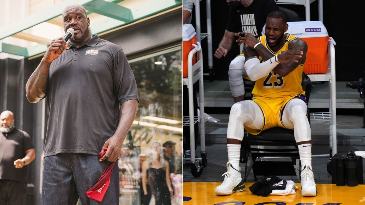 """""""LeBron James makes $200 million, 40 million people have been laid off"""": Shaquille O'Neal passionately rebuts Lakers star's complaints with NBA for starting 2020-21 season early"""