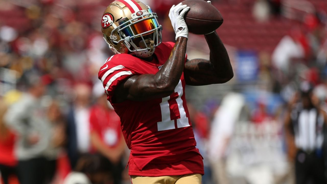 """""""Marquise Goodwin have an Olympic mentality"""": Matt Nagy reacts to Bear's WR participating in long jump at U.S Olympic Trials."""