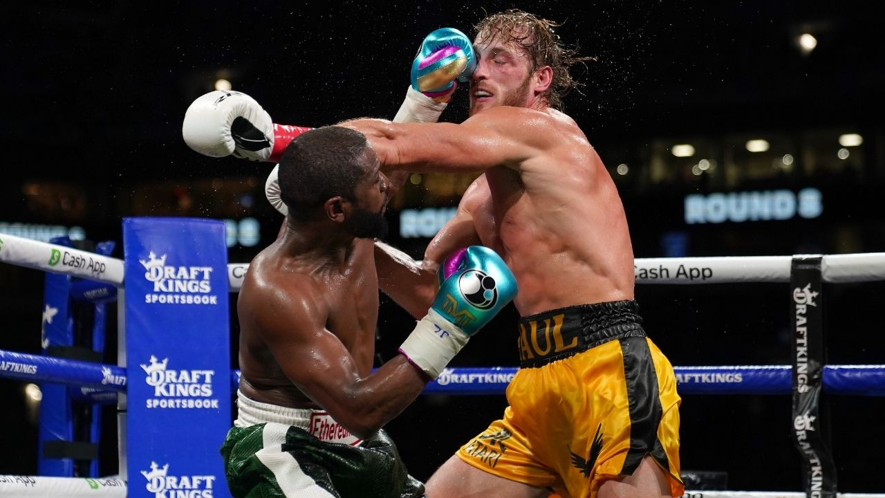 """""""Looked like a Mike Tyson punchout"""": Lakers' LeBron James entertains boxing fans with reviews of the exhibition boxing match between Logan Paul vs Floyd Mayweather"""