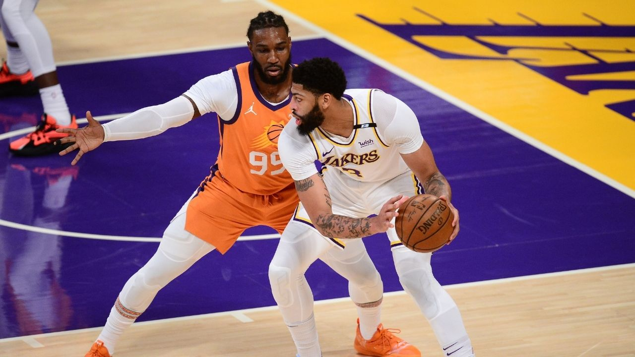 """""""Anthony Davis came under social media pressure to play Game 6"""": Kendrick Perkins neatly takes blame off Stephen A Smith's shoulders and places it on NBA fans for AD's Game 6 groin injury misadventures"""
