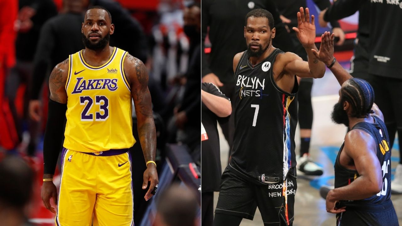 """""""LeBron James isn't even in the same stratosphere as Kevin Durant!"""": Skip Bayless dishes more disrespect toward King James as list for MVP odds for the '21-22 season gets out"""