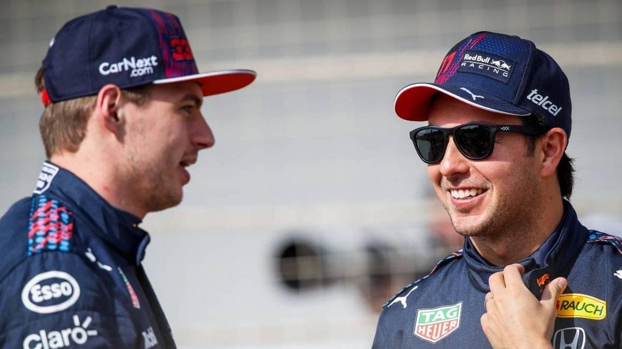 """He still has a few weaknesses""– Verstappen judges Sergio Perez"