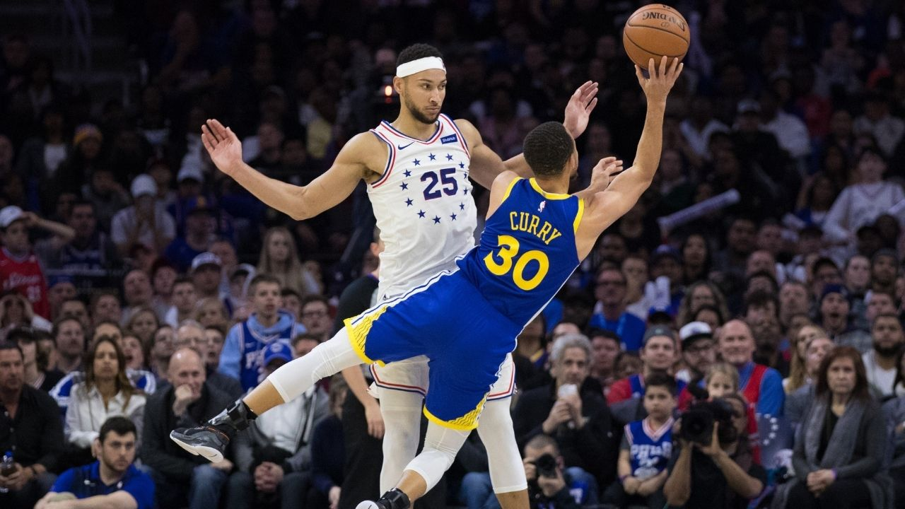 """""""Ben Simmons could be traded to the Warriors"""": NBA analyst hints at a union between Stephen Curry, Draymond Green and Benny 1-point"""