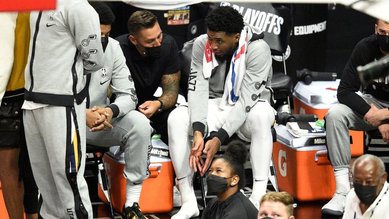 """""""It was my landing"""": Utah Jazz All-Star Donovan Mitchell discloses what caused his right ankle injury during Game 3 against Kawhi Leonard's Clippers"""