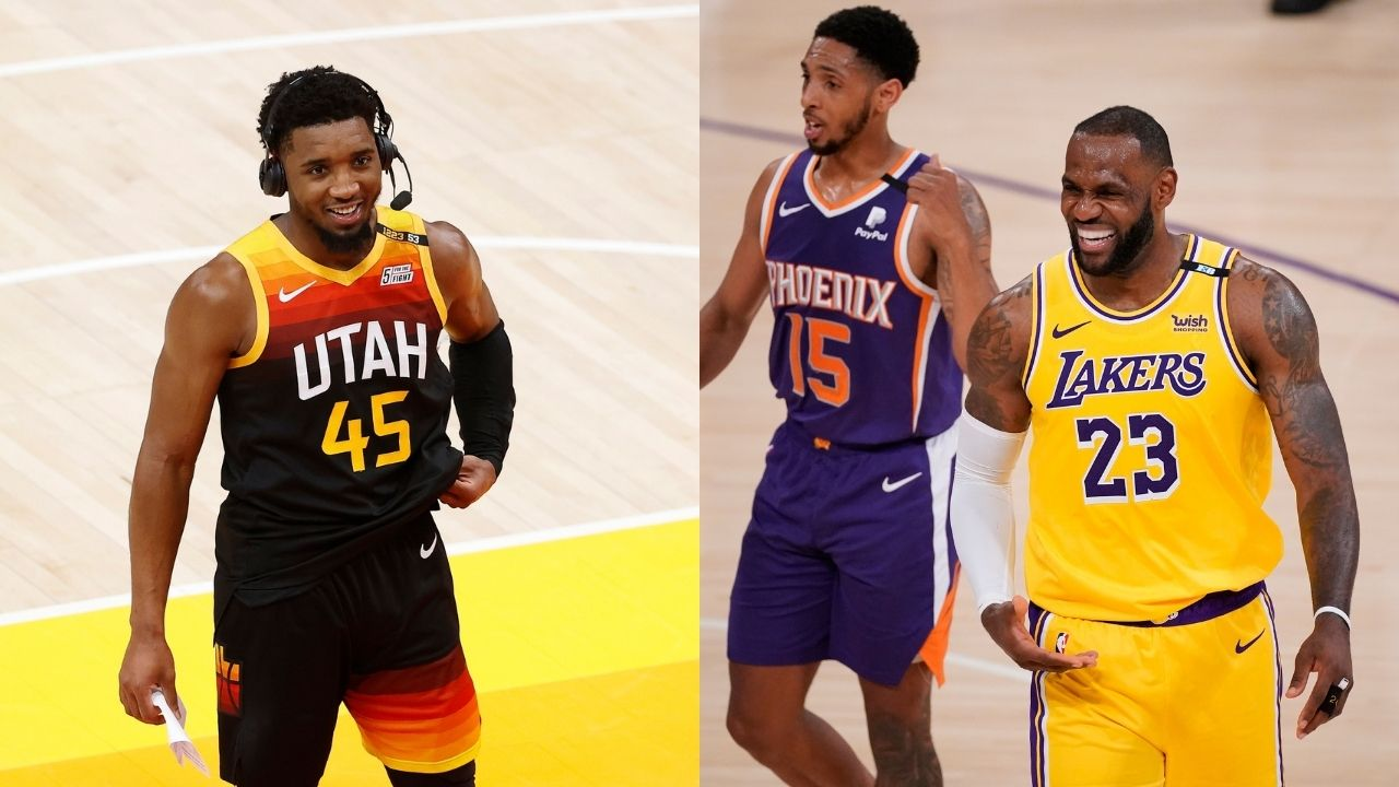 """""""The Playoffs are competitive even without LeBron James or Steph Curry"""": Donovan Mitchell hypes up the 'new blood' in the 2021 postseason"""