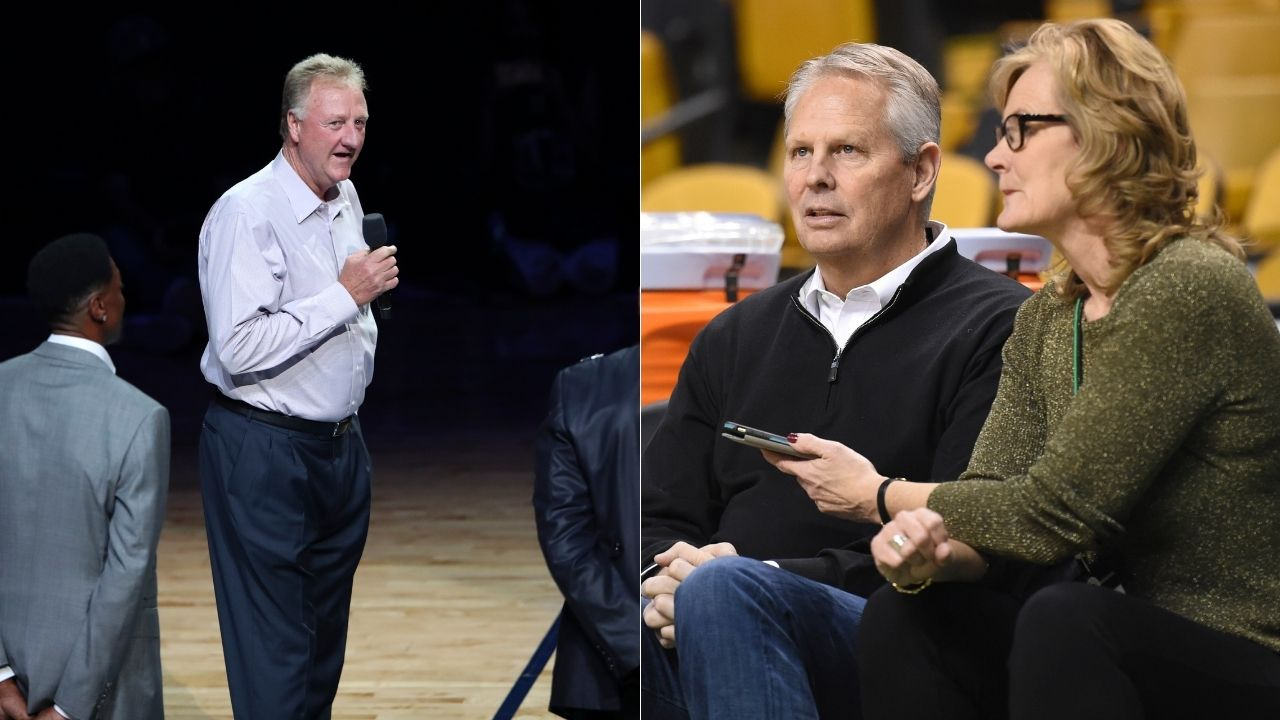 """""""Larry Bird was so cheap, he wouldn't let a $20 bet go"""": Danny Ainge narrates awesome story of how the Celtics legend won a bet to bank in a 3-pointer vs the Knicks"""