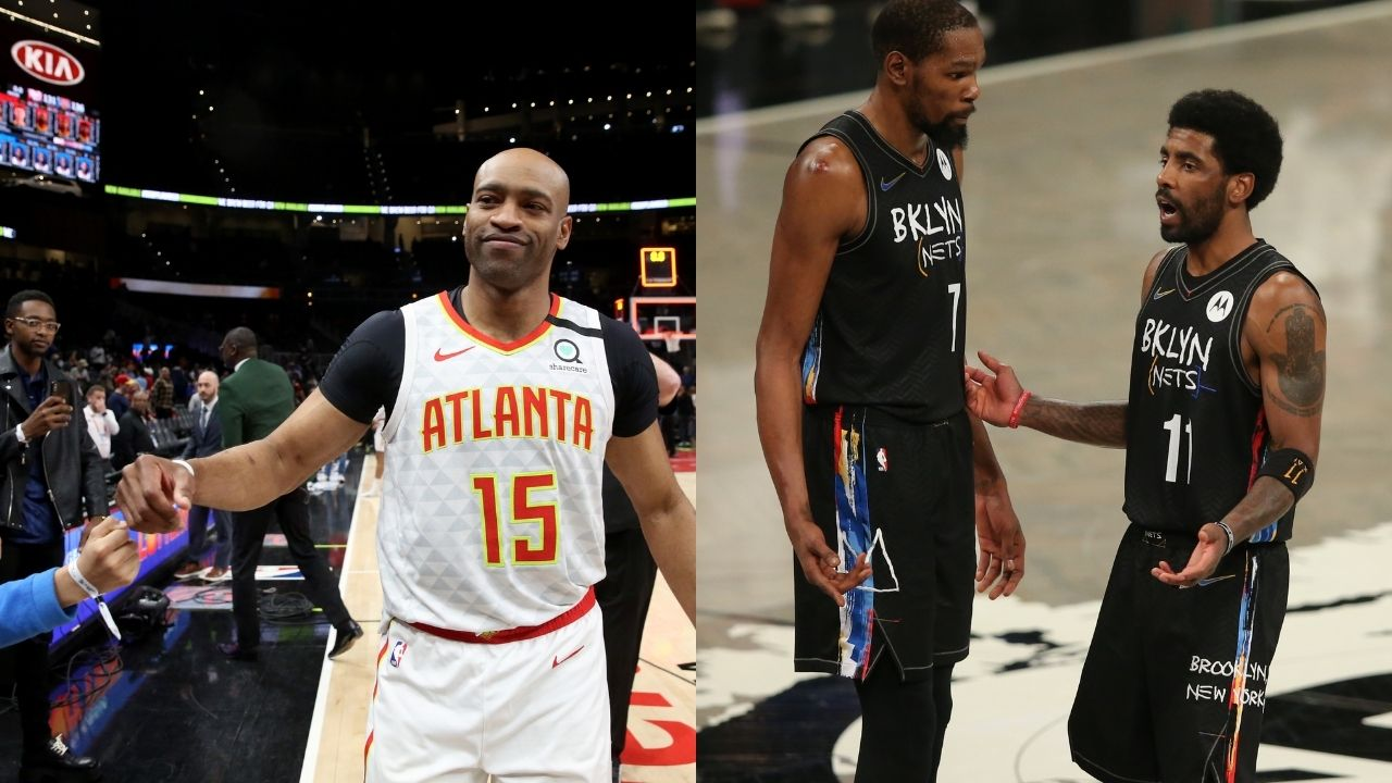 """""""Kevin Durant is more gifted than Michael Jordan"""": NBA legend Vince Carter explains his controversial take on siding with Steve Kerr on the Brooklyn star being more gifted than Michael Jordan""""Kevin Durant is more gifted than Michael Jordan"""": NBA legend Vince Carter explains his controversial take on siding with Steve Kerr on the Brooklyn star being more gifted than Michael Jordan"""