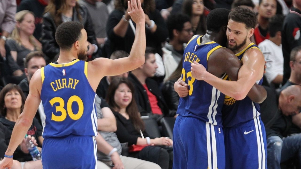 """""""With Klay Thompson healthy we're winning the NBA Finals next year"""": Draymond Green throws down the gauntlet on the NBA, promises Warriors' return to Finals in 2022"""