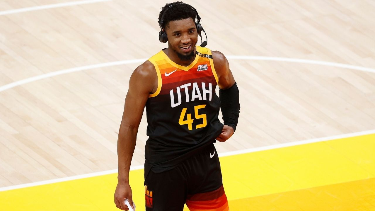 """""""Clippers will call it quits if we hit our shots"""": Donovan Mitchell gave an exemplary pep talk to his Jazz teammates at halftime of their Game 1 win over Kawhi Leonard and co"""