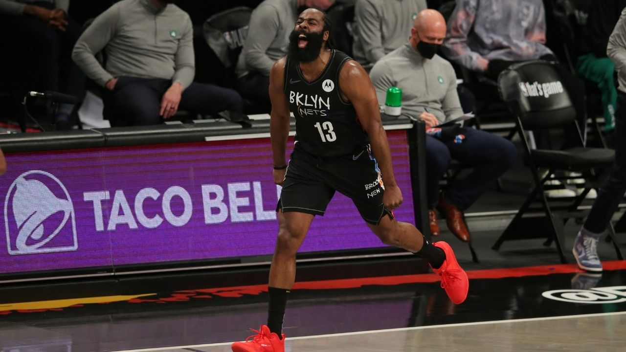 """""""Healthy James Harden...it's scary, SCARY HOURS"""": Nets' superstar puts the league on notice, and gives fans another reason to be excited for the upcoming 2021-22 NBA season"""