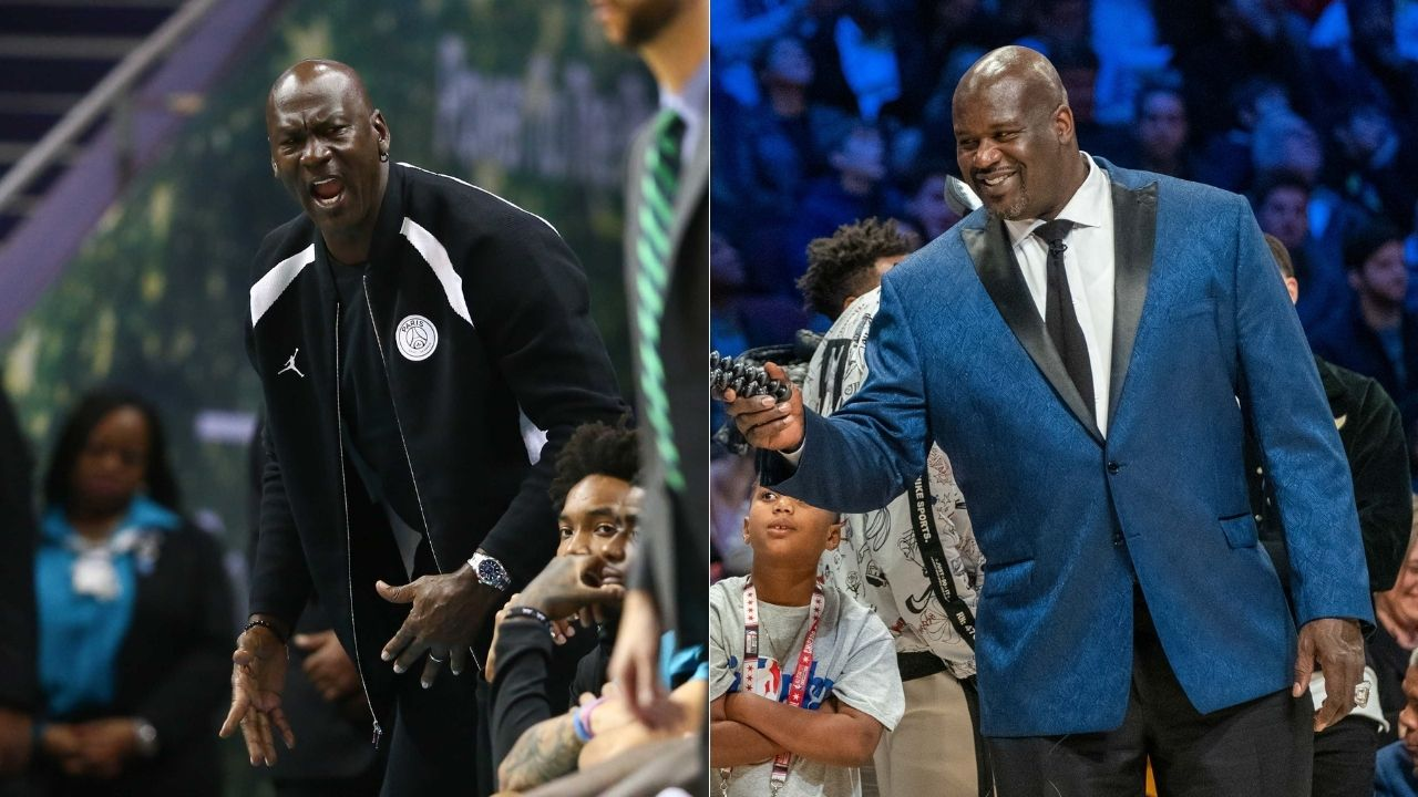 """""""I would miss playing with Michael Jordan"""": Shaquille O'Neal on learning about the Bulls legend's decision to retire in 1993"""