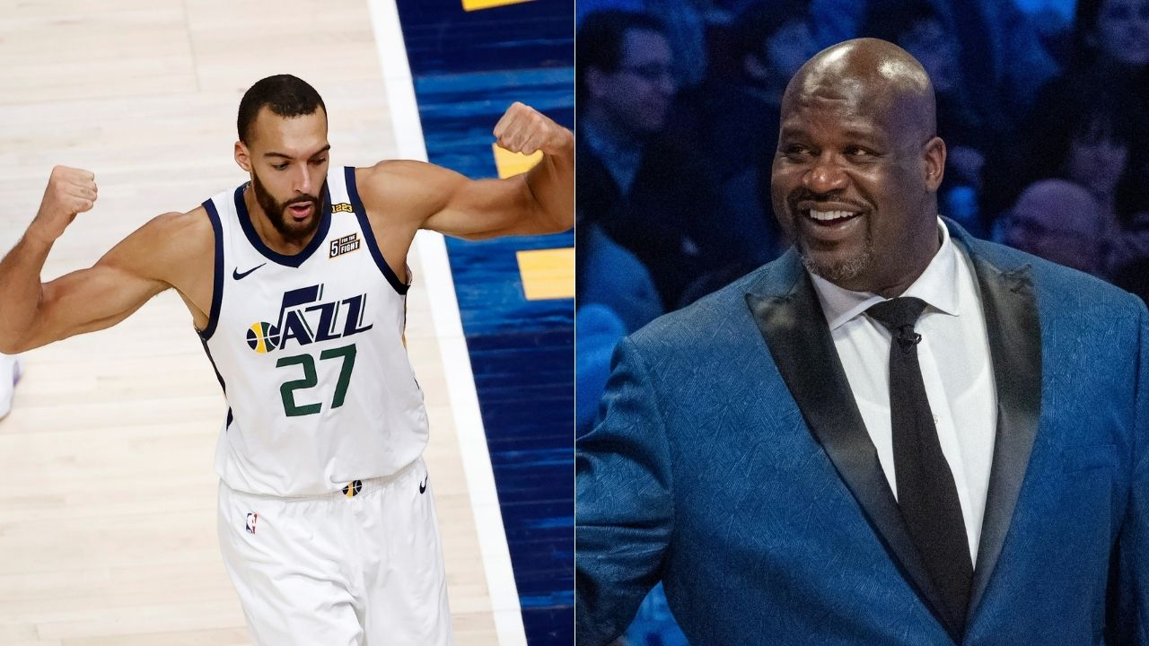 """""""Rudy Gobert just signed $205 million contract - Shaq tried to tell y'all about this fraud"""": NBA fans react to Lakers legend's January take that Jazz DPOY is not a supermax player"""