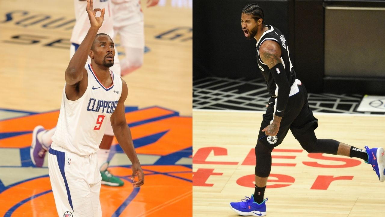 'Please fill out the Paul George apology form appropriately': Serge Ibaka hilariously roasts 'Pandemic P' trolls as 'Playoff P' guides Clippers to Game 5 win
