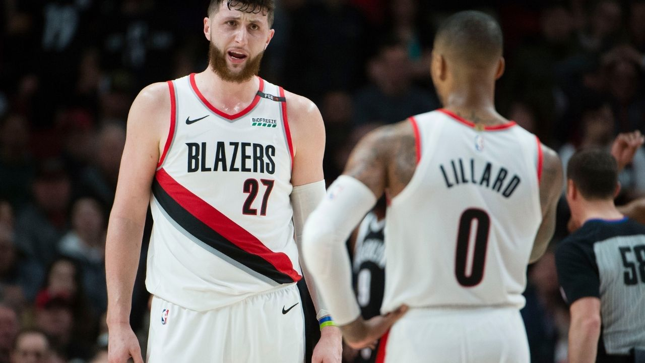 """""""If Damian Lillard leaves Portland then so do I"""": Jusuf Nurkic puts the Blazers front office on blast by calling them 'stupid' for thinking of letting Lillard go"""