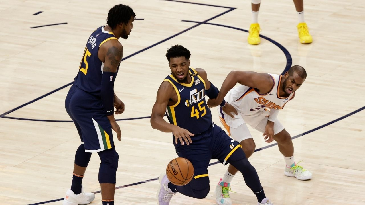 """""""Donovan Mitchell didn't even plan on being part of the 2017 Draft Class"""": How Chris Paul and Paul George convinced the Utah Jazz combo guard to declare for the 2017 NBA Draft"""