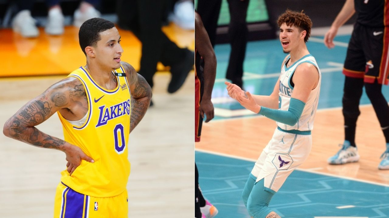 """""""Kyle Kuzma, I'm your favorite player's favorite player:"""" When 16-year-old LaMelo Ball talked trash to Lonzo's former Lakers teammate"""