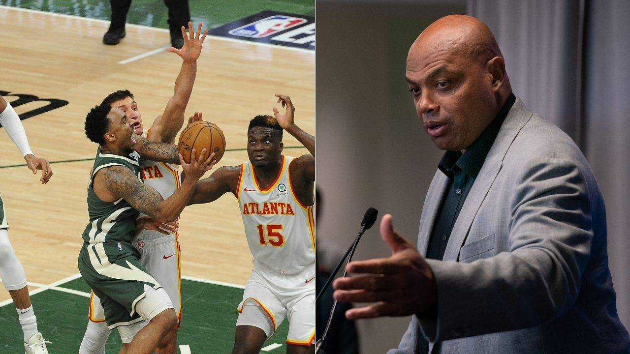 """""""Charles Barkley, Jeff Teague isn't even on the Hawks any more!"""": Inside the NBA crew reacts to Chuck forgetting who the Bucks star plays for ahead of Game 4"""